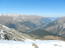 Caucas. Dombay. Road to Nalchik Stock Image