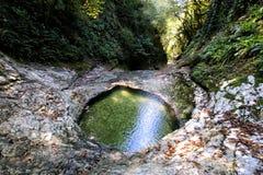 caucase Athos neuf La gorge photo stock