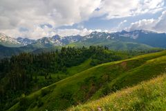 Caucase occidental images stock