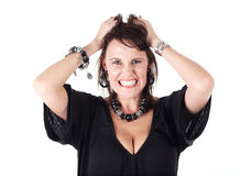 Caucasian Adult woman Royalty Free Stock Images