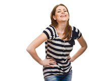 Caucasian Anerican girl Royalty Free Stock Images