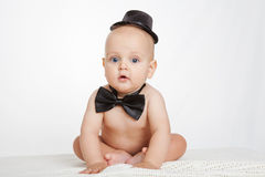 Caucasian baby boy Royalty Free Stock Photos