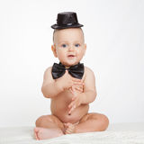 Caucasian baby boy Stock Photos