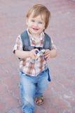 Caucasian baby boy Royalty Free Stock Photos
