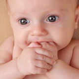 Caucasian baby girl Stock Photography