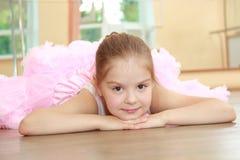 Caucasian ballerina Arkivfoton
