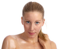 Caucasian, beautiful woman with great skin Royalty Free Stock Photo