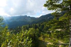 Caucasian berg Arkivfoto