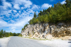 Caucasian berg Fotografering för Bildbyråer