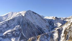 Caucasian berg, Georgia Arkivbild