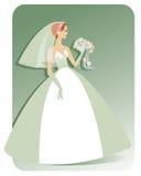 Caucasian Bride Stock Image