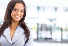 Caucasian Business Woman Royalty Free Stock Photography