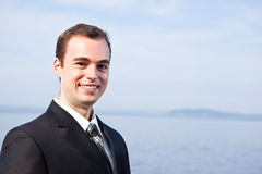Caucasian businessman Royalty Free Stock Image