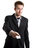 Caucasian businessman Stock Photo