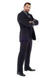 Caucasian businessman full length Stock Images