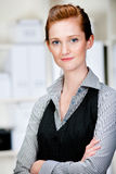 Caucasian Businesswoman Royalty Free Stock Photography
