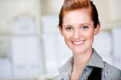 Caucasian Businesswoman Royalty Free Stock Photo
