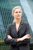 Caucasian Businesswoman Royalty Free Stock Images
