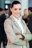 Caucasian businesswoman portrait Royalty Free Stock Images