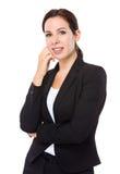 Caucasian businesswoman Stock Photography