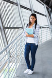 Caucasian college student Royalty Free Stock Photos