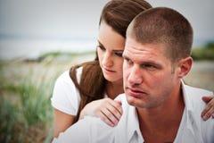 Caucasian couple Stock Photos