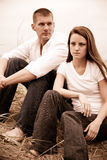 Caucasian couple Royalty Free Stock Photography