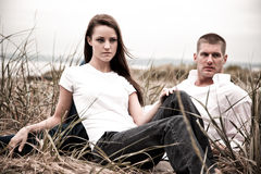 Caucasian couple Stock Photo