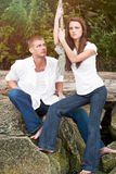 Caucasian couple Stock Photography