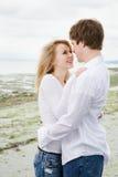Caucasian couple in love Stock Photos