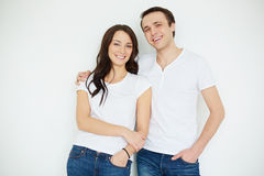 Caucasian couple Royalty Free Stock Photography