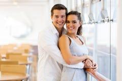 Caucasian couple portrait Royalty Free Stock Photo