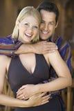 Caucasian couple smiling. Stock Photos