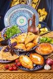 Caucasian cuisine from stove Stock Photo