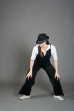 caucasian dansarekvinnligjazz Royaltyfri Foto