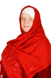 Caucasian female becoming a muslimah Royalty Free Stock Photography