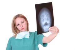 Caucasian female doctor Stock Photography