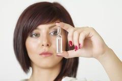 Caucasian female see ampulla Stock Image