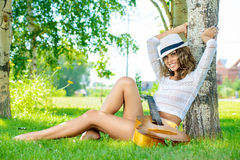 Caucasian flicka Royaltyfri Fotografi