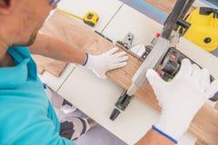 Free Caucasian Flooring Contractor Stock Image - 144756251