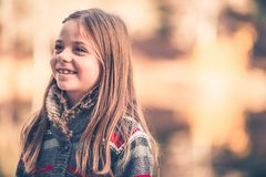 Caucasian Girl Smile Stock Photography