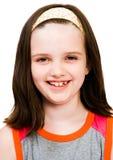 Caucasian girl smiling Stock Images