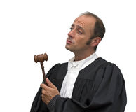 Caucasian judge Royalty Free Stock Image