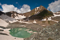 Caucasian lakes Royalty Free Stock Photo