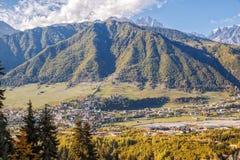 Caucasian landscape stock images