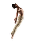 Caucasian male dancer Stock Image