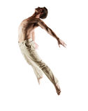 Caucasian male dancer Royalty Free Stock Photography