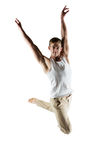 Caucasian male dancer Royalty Free Stock Image