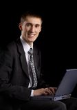 Caucasian male person  on background Royalty Free Stock Photography