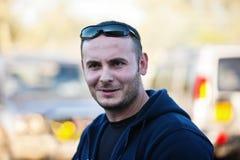 caucasian man Fotografering för Bildbyråer